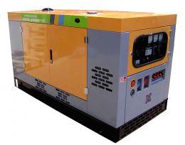 Γεννήτρια πετρελαίου υδρόψυκτη 1500στροφών κλειστού τύπου 37,5KVA