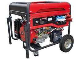 Γεννήτρια βενζίνης PLUS ΗΖΒ 6500 ATS Αυτοματης Ζευξης με μίζα μπαταρία και AVR
