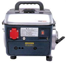 Ηλεκτρογεννήτρια βενζίνης δίχρονη αθόρυβη βαλιτσάκι 0,8kva ντεπόζιτο 10 λίτρα