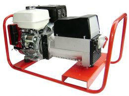Γεννήτρια βενζίνης SINCRO 16 KVA ΤΡΙΦΑΣΙΚΗ με κινητήρα 2V77 με μίζα και AVR