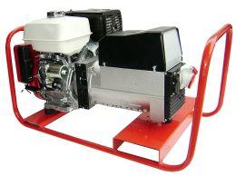 Γεννήτρια βενζίνης SINCRO 7 KVA ΤΡΙΦΑΣΙΚΗ με κινητήρα HONDA GX390 με μίζα