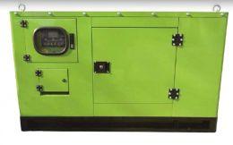 ΓΕΝΝΗΤΡΙΑ 18 kva GF3-15 380V με πετρελαιοκινητήρα 22hp ΑΘΟΡΥΒΗ 1500rpm ΧΩΡΙΣ ΨΥΚΤΡΕΣ