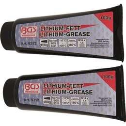 Γράσο λιθίου ανταλλακτικό σωληνάριο 100 gr