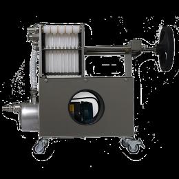 Φίλτρο ΙΝΟΧ professional 20x20 με 10 πλάκες και μανόμετρο Grifo