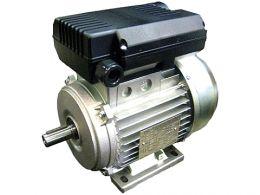 Ηλεκτροκινητήρας μονοφασικός 1400 στροφών 5.5hp ιταλίας με διακόπτη καλώδιο και φις