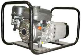 Ηλεκτροπαράγωγα ζεύγη 380V βενζίνης τετράχρονα με σταθεροποιητή τάσης 5.5kva 13hp με μίζα