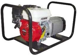 Ηλεκτρογεννήτρια βενζίνης τετράχρονη 220V με κινητήρα honda 13hp linz γεννήτρια 9kva σταθεροποιητή τάσης μπαταρία και μίζα