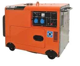 Ηλεκτρογεννήτρια πετρελαίου κλειστού τύπου KRAFT WS 7500L-1 63770