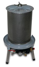 Υδροπρέσσα ροδιού 40 lit Grifo made in italy