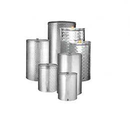 Ανοξείδωτη δεξαμενή (Inox) με καπάκι τύπου κατσαρόλας 100Lt πρεσσαριστό 693172
