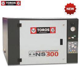 Αεροσυμπιεστής ηχομονωμένος 7,5 Hp 950 lt/min TOTAL 950ΥΔ TOROS