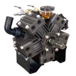 KAPPA 125 2C TS μεμβρανοφόρα με δυο άξονες 40ATM και παροχή 125 λίτρα/λεπτό