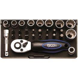 Καρυδάκια 1/4 Gear Lock σετ 28 τεμαχίων