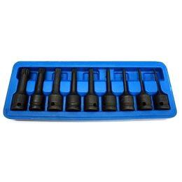 Καρυδάκια αέρος spline XZN 1/2 9 τεμαχίων