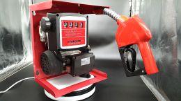 Κιτ μετάγγισης πετρελαίου με μηχανικό μετρητή 0.30hp με αυτόματη μάνικα και λάστιχο 4 μέτρων 60lit/λεπτό