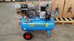 Προσφορά Κιτ αεροσυμπιεστή βενζίνης 6.5hp με χτένα lisam V8 titanium λάστιχο και προέκταση made in italy