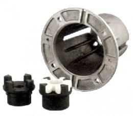 Φλάτζα και κόμπλερ προσαρμογής ηλεκτροκινητήρα mec 90/b14 αντλιών σειράς xt,rc