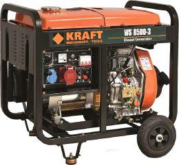 Ηλεκτρογεννήτρια πετρελαίου KRAFT WS 8500-3 63774