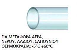 ΕΥΚΑΜΠΤΟΣ ΣΩΛΗΝΑΣ 50m ΝΑΥΛΟΝ ΔΙΑΦΑΝΗΣ 4 x 8mm ΓΙΑ ΜΕΤΑΦΟΡΑ ΑΕΡΑ , ΝΕΡΟΥ , ΛΑΔΙΟΥ , ΣΑΠΟΥΝΙΟΥ
