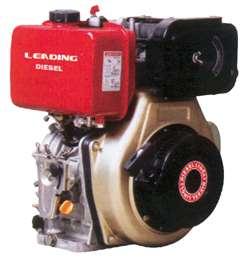 Κινητήρας πετρελαίου με σχοινί  LD186F 10 HP και κώνο 25.4