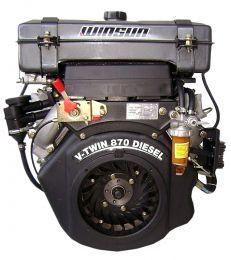 Πετρελαιοκινητήρας R2V910-V2 αερόψυκτος 2κύλινδρος με ρεζερβουάρ 21hp