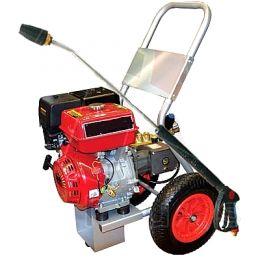 Πλυστικά βενζινοκίνητα HAWK κρύου νερού 3000 στροφών με κινητήρα 13HP 250BAR HONDA made in italy