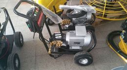 Πλυστικό Μηχάνημα με πίνακα και TOTAL STOP 4hp 152bar 1450 rpm