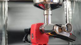 Μηχανή αλέσεως ντομάτας omra ηλεκτρική 400watt με ανοξείδωτο δοχείο και συλλέκτη παραγωγη 400kg/h NL5 made in italy