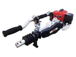 Ραβδιστικό - δονητικό βενζινοκίνητο δίχρονο με κοντάρι vibrotek tk 6000 με διαδρομή δόνησης 60mm