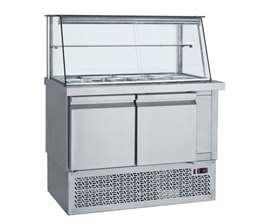 Ψυγείο Σαλατών Με Μηχανή Κάτω