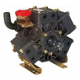 DELTA 75 2C TS μεμβρανοφόρα με δυο άξονες 40ATM και παροχή 76 λίτρα/λεπτό