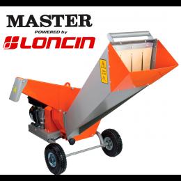 Βενζινοκίνητος βιοθρυμματιστής Master-Loncin ΒΙΟ 50