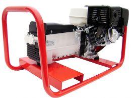 Γεννήτρια βενζίνης SINCRO 12 KVA μονοφασική με κινητήρα 2V77 με μίζα