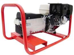 Γεννήτρια βενζίνης SINCRO 7 KVA μονοφασική με κινητήρα ΗONDA 13HP και μίζα