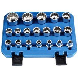 Συλλογή καρυδάκια 1/2 Gear Lock 19 τεμαχίων