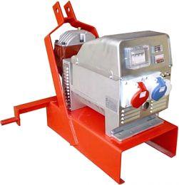 Τριφασική ηλεκτρογεννήτρια για τρακτέρ 11KVA 1500 ΣΤΡΟΦΩΝ με πολλαπλασιαστή και AVR