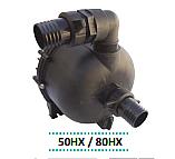 Αντλία πλαστική βενζινοκινητήρα θάλασσας-χημικών 50HX σφήνα 19mm