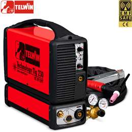 ΗΛΕΚΤΡΟΚΟΛΛΗΣΗ TIG TELWIN TECHNOLOGY TIG 230 DC-HF LIFT 230V