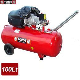 TOROS TM 100-3 ΑΕΡΟΣΥΜΠΙΕΣΤΗΣ ΜΟΝΟΜΠΛΟΚ 100 Lt