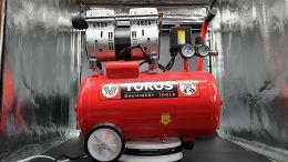 TOROS - Αεροσυμπιεστής χαμηλού θορύβου χωρίς Λάδι 24lt - 0.75HP