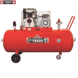 TOROS 300-3 ΑΕΡΟΣΥΜΠΙΕΣΤΗΣ ΜΕ ΙΜΑΝΤΑ 300Lt-3HP 220V