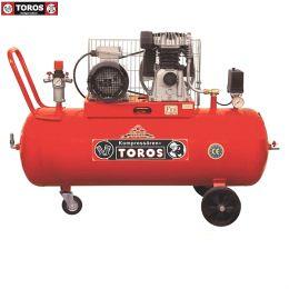 TOROS ΑΕΡΟΣΥΜΠΙΕΣΤΗΣ 300-4 ΜΕ ΙΜΑΝΤΑ 300Lt-4HP 380V