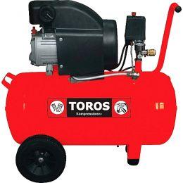 TOROS Αεροσυμπιεστής μονομπλόκ 50lt - 2.0 HP