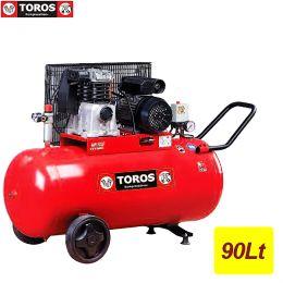 TOROS ΑΕΡΟΣΥΜΠΙΕΣΤΗΣ ΜΕ ΙΜΑΝΤΑ 90Lt-3HP MK 103-90-3 400V