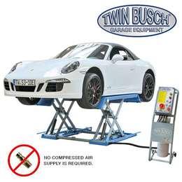 Ανυψωτικό ψαλιδωτό, ηλεκτρουδραυλικό, ανυψωτικής ικανότητας 3000 kg. Ανύψωση 1ός μέτρου κατάλληλο για βουλκανιζατέρ