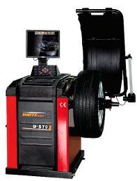 U-579 self-calibrating computer wheel balancer U-579 Self-Calibrating Computer Wheel Balancer