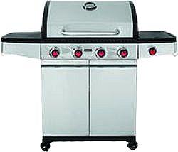Ψησταρία BBQ Υγραερίου με 4 Καυστήρες - BARBEQUE