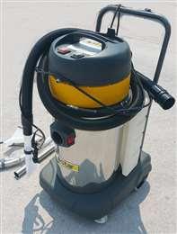 Σκούπα βιολογικού καθαρισμού 77lt με 2 μοτέρ 1400watt Garage Star Ιταλίας