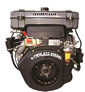 WINSUN Κινητήρας Πετρελαίου αερόψυκτος 19Hp (κώνος) R2V870-V2
