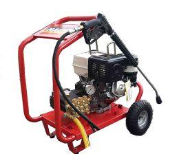 Υδροπλυστικό βενζινοκίνητο 200 bar 15 lit με κινητήρα HONDA 6hp made in italy